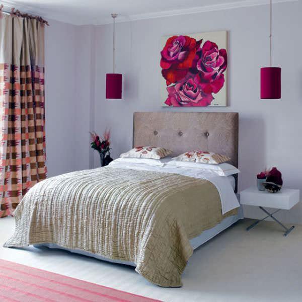 küçük yatak odası yatak başı