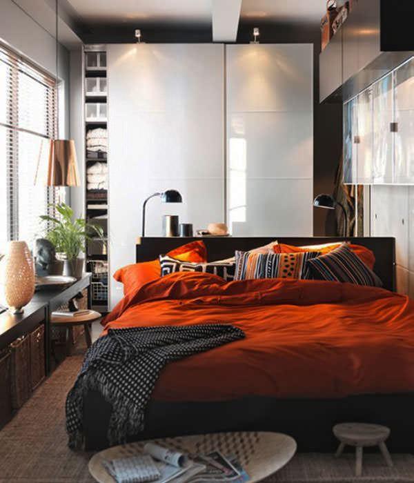 küçük yatak odası düzenleme