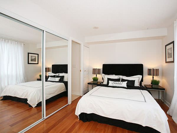 küçük yatak odası gardırop modelleri