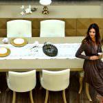 yemek odası takım renkleri zebrano mobilya yemek odası modelleri