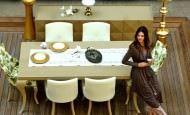 Zebrano Mobilya Yemek Odası Modelleri