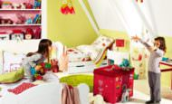 Çocuk Odasına Renkli Eğlenceli Dekorasyon Stilleri