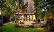 Modern Bahçe Katı Daire Dekorasyonu