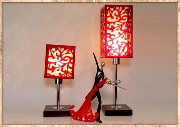 dekoratif abajur
