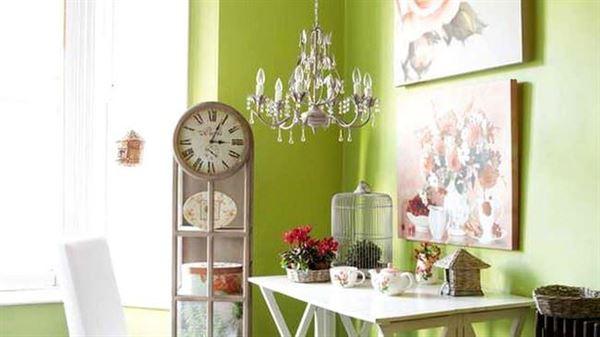 renkli yaz ev dekorasyon