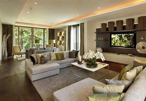 Renkli Salon ve Oturma Odası