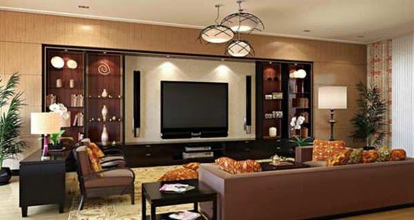 Modern Renkli Salon ve Oturma Odası Stilleri 4