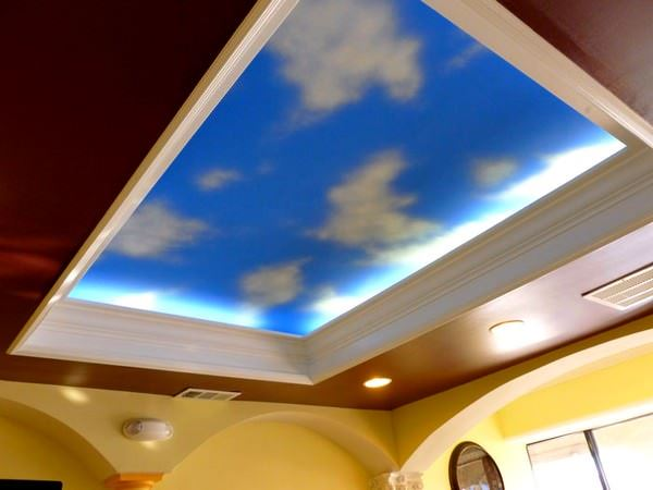 Gökyüzünü Andıran Tavan Dekorasyonları