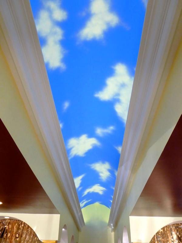 Gökyüzünü Andıran Tavan Dekorasyonları 3