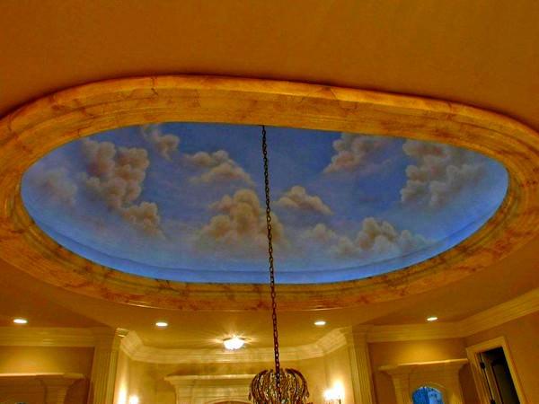Gökyüzünü Andıran Tavan Dekorasyonları 4