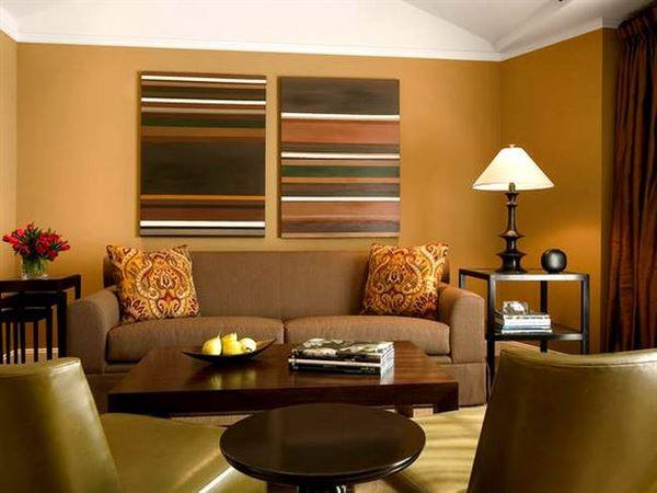Renkli Modern Salon Ve Oturma Odası Dekorasyonları 2