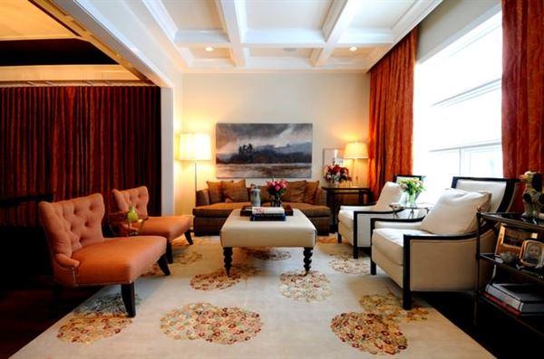 Renkli Modern Salon Ve Oturma Odası Dekorasyonları
