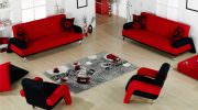 Kırmızı Renk Oturma Grubu Modelleri