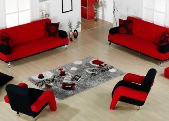 kırmızı siyah koltuk modeli