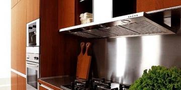 ceviz rengi ankastre mutfak