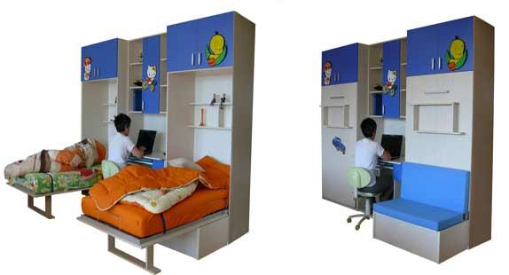 Gaysan Fonksiyonel Genç Odası Mobilya 5
