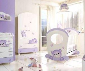 Modern Yeni Tasarım Bebek Odası Modelleri