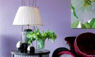 Lila Renk İle Uyumlu Mobilya Renk Fikirleri
