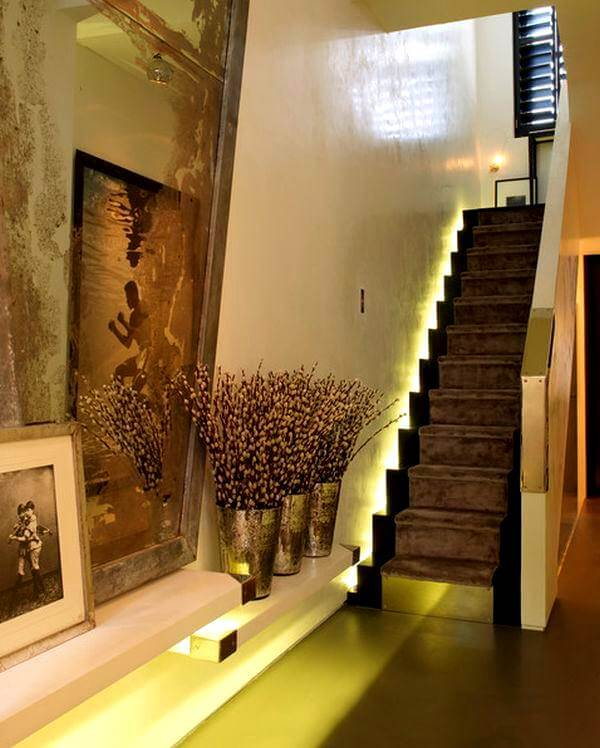 merdiven led aydınlatma