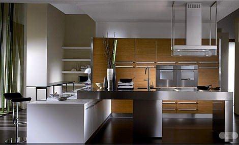meşe rengi mutfak modeli