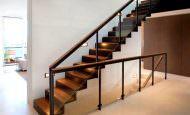 Dubleks Daire Merdiven Aydınlatma Modelleri