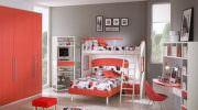 Fonksiyonel Renkli Ranzalı Genç Odaları