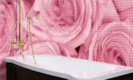 Resimli Banyo Duvar Mozaik Modelleri