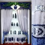 etkileyici dekoratif salon perde modelleri