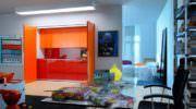 Katlanır Kapılı Gizli Mutfak Tasarımı