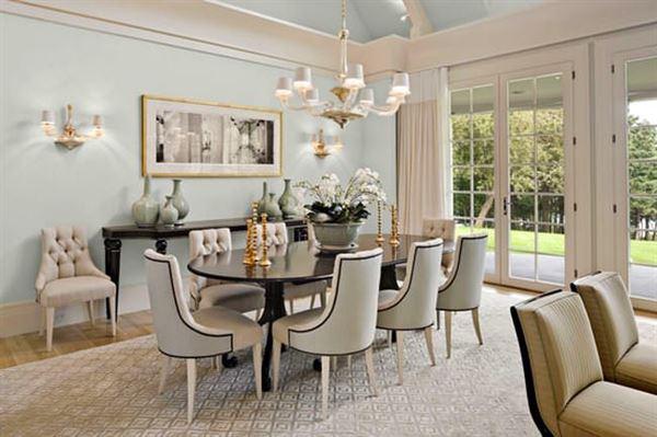 Klasik Yemek Odası Dekorasyon Fikirleri 19