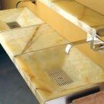 mermer-lavabo modern dekoratif yeni tasarım lavabo modelleri