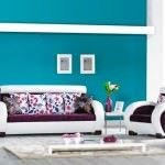 meşe mobilya modern Çiçek desenli koltuk modelleri