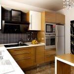 mutfak modelleri - rossi AZURA Mutfak Dolabi modeli mese rengi 150x150 - Rossi Modern Çok Şık Yeni Tasarım Mutfak Modelleri