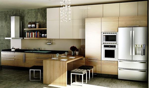 Rossi Modern Çok Şık Yeni Tasarım Mutfak Modelleri 5
