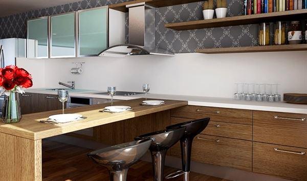Rossi Modern Çok Şık Yeni Tasarım Mutfak Modelleri 8