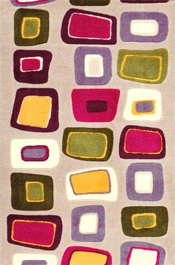 Saray Jel Tabanlı Halı Koleksiyonu Geometrik Desenler 28