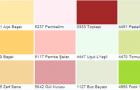 Ünlü Boya Plastik Duvar Boya Renkleri