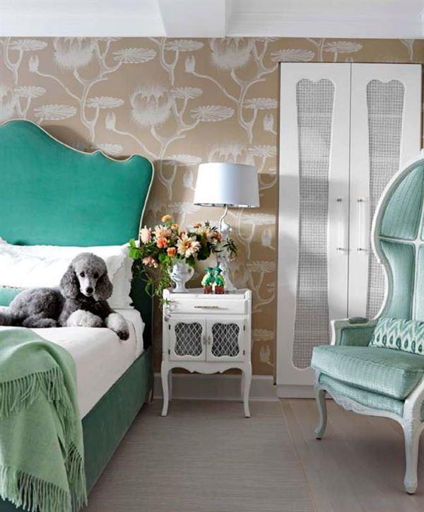 Modern Renkli Ve Desenli Yatak Odası Duvar Kağıtları desenli yatak odası duvar kağıtları - yatak odasi 2014 sutlu kahve duvar kagitlari - Modern Renkli Ve Desenli Yatak Odası Duvar Kağıtları