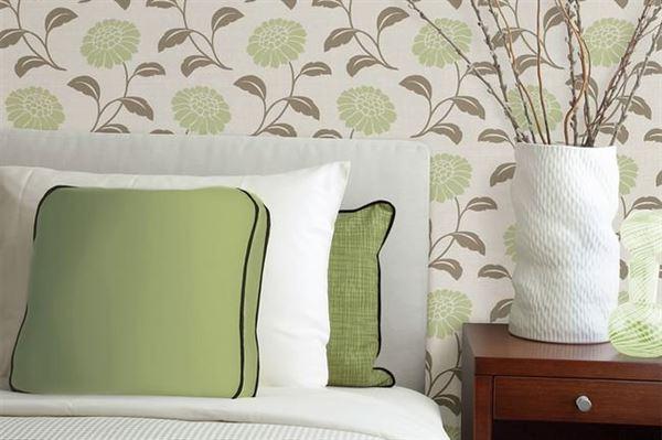 Modern Renkli Ve Desenli Yatak Odası Duvar Kağıtları desenli yatak odası duvar kağıtları - yatak odasi cicekli duvar kagitlari - Modern Renkli Ve Desenli Yatak Odası Duvar Kağıtları