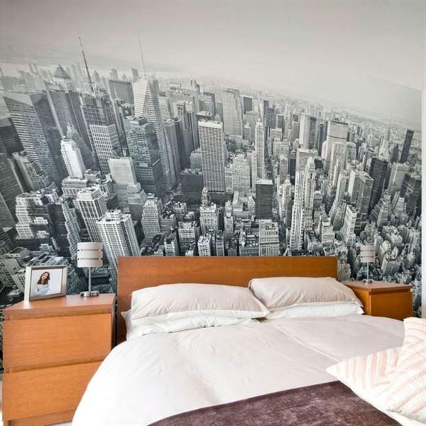 Modern Renkli Ve Desenli Yatak Odası Duvar Kağıtları desenli yatak odası duvar kağıtları - yatak odasi manzarali duvar kagitlar - Modern Renkli Ve Desenli Yatak Odası Duvar Kağıtları