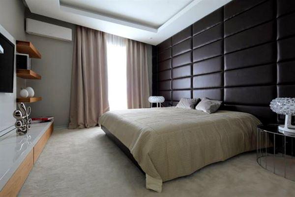 yatak odası dekorasyon modeli