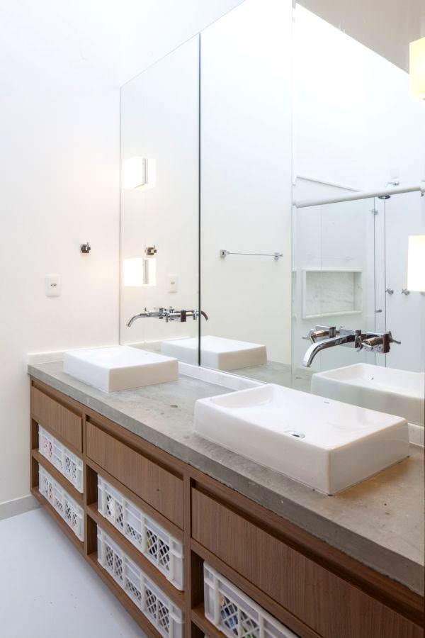 Geniş Modern Lüks Banyo Dekorasyon Modelleri 6