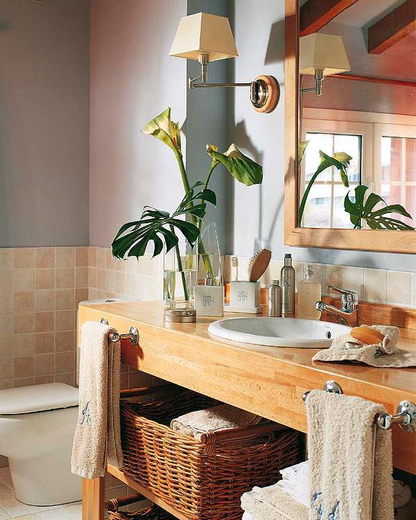 Banyo Lavabo Dolap Tasarımları 2