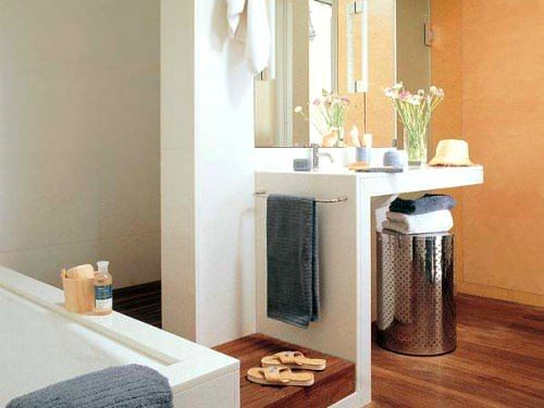 Banyo Lavabo Dolap Tasarımları 5