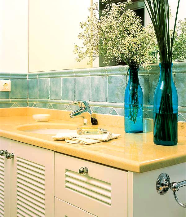 Banyo Lavabo Dolap Tasarımları 6