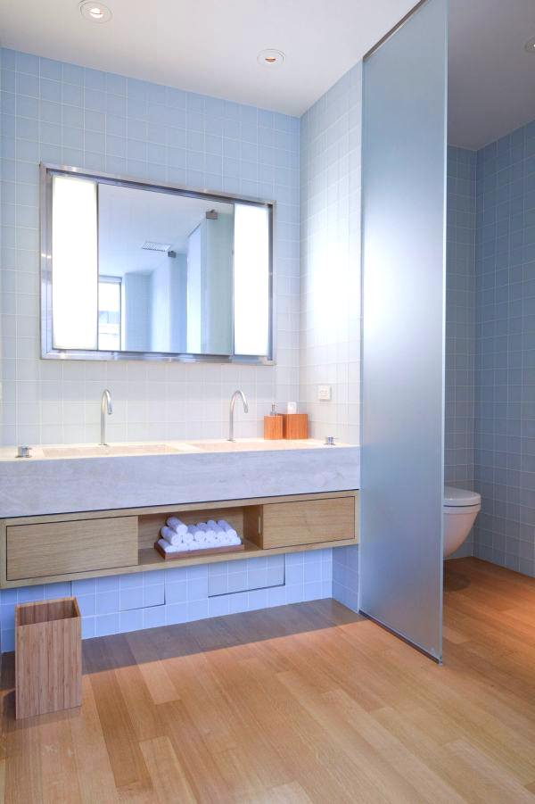 Geniş Modern Lüks Banyo Dekorasyon Modelleri 4