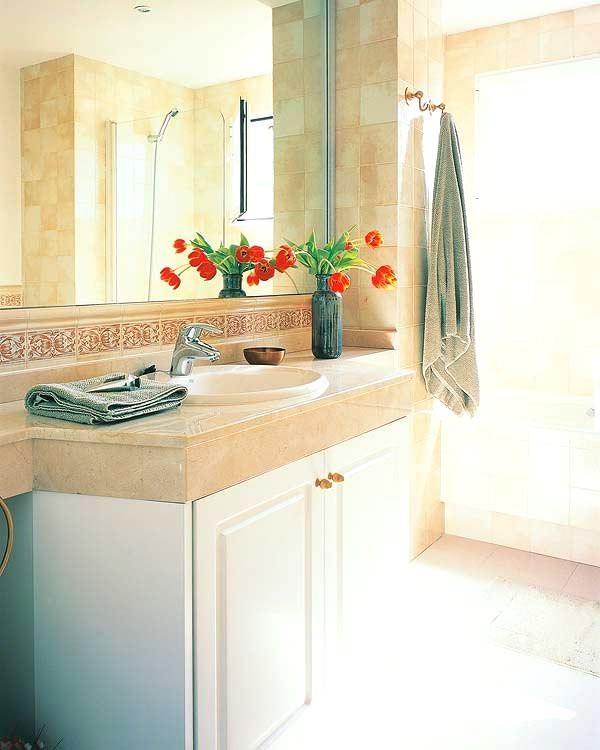 Banyo Lavabo Dolap Tasarımları 18