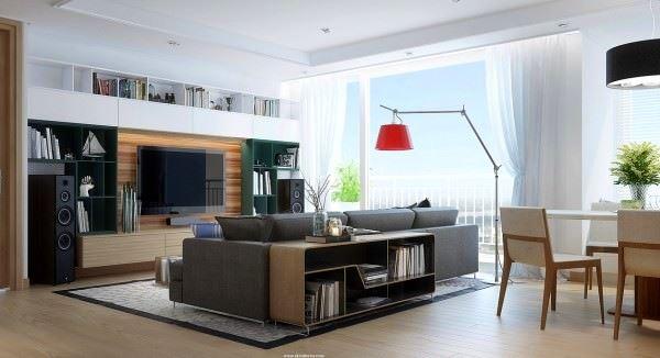 Modern Değişik Ev Dekorasyon Stilleri 17