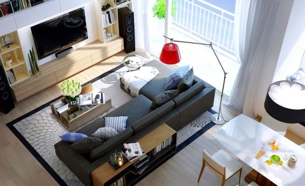 Modern Değişik Ev Dekorasyon Stilleri 2