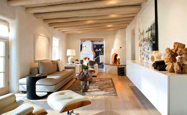 Köy Evi Dekorasyonu köy evi dekorasyonu - ahsap tavanli koy ev dekoru - Modern Tarzda Köy Evi Dekorasyonu